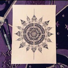 compass mandala tattoo | Tumblr