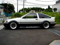 My new Ride ]] Trueno << - Casual Forums / Members / Member Rides - PakWheels Forums Classic Japanese Cars, Japanese Sports Cars, Classic Cars, Tuner Cars, Jdm Cars, Nissan, Toyota Corolla, Corolla Ae86, Skyline Gt
