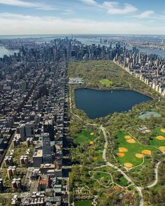 Central Park from above by J. Callahan Photography - New York City Feelings