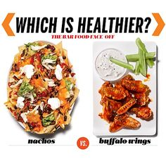 Bar Food Brawl: #Nachos vs. #BuffaloWings Can you guess which of these #appetizers is the better choice? | Health.com