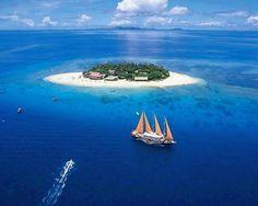 Fiji, beachcomber
