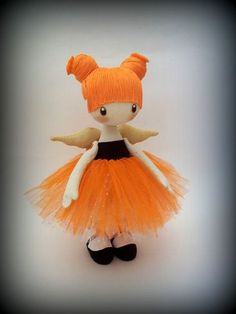 Человечки ручной работы. Ярмарка Мастеров - ручная работа текстильная кукла Балеринка ..... Handmade.