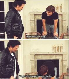 James and Dave Franco. This made me laugh so hard!