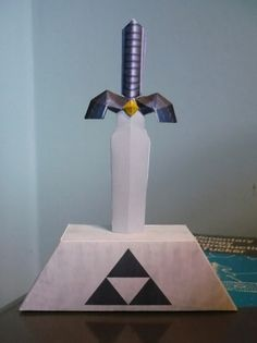 how to make a replica master sword
