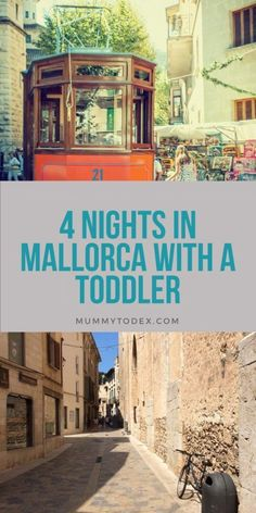 A 4 day itinerary for Majorca with a toddler. From Pollenca to Palma to Soller. There's so much to see and do on this amazing island.