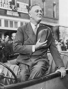Franklin D. Roosevelt, the 32nd president, was elected in the depths of the Great Depression on his promise to end the downturn and provide a New Deal for Americans. His programs are credited with spurring the recovery. He later formed a close alliance with England's Winston Churchill to fight and win World War II. He is the only president to serve more than two terms.
