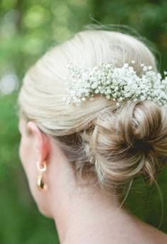 Love the baby's breath as an accessory