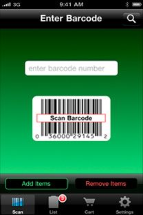 Prep & Pantry App track stored items location, quantities and expiration dates. Not just food but first aid and all items you would like to keep track of. Just scan the barcode and all the information is stored automatically