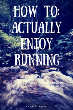Enjoying running can be a hard thing to do at first, so check out my guide on how to love it! These are also great tip for beginning runners!