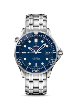 Omega Seamaster Diver - 300 M - Co-Axial 41mm - Steel on Steel - Ref. 212.30.41.20.03.001 $4400 MSRP