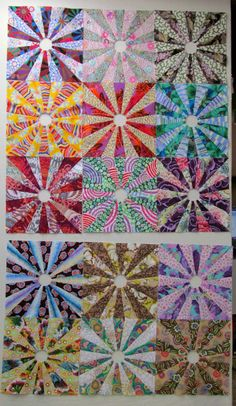 Exuberant Color - Wanda's quilts are wonderful!