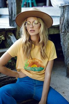 hippie style 786370784906015242 - pin: imogennaomi Source by clementinemicheau 70s Outfits, Hippie Outfits, Summer Outfits, Cute Outfits, Fashion Outfits, Casual Outfits, Summer Dresses, Fashion Mode, 70s Fashion