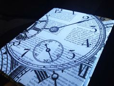 Pink Floyd inspired Time Album or Journal by lovebirdbooks on Etsy, $14.00