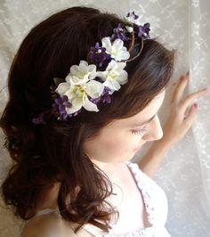 Gorgeous headpiece (: