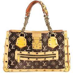 Louis Vuitton Limited Edition Trompe L'Oeil Le Fabuleux Tote | Louis Vuitton Handbags - Bag Borrow or Steal