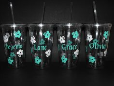 Personalized Flower Girl Gifts Flower Girl Tumbler by MaggiesCraftTime,+$12.00