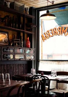 El ALMACEN, 557 Driggs Ave, Williamsburg. Rustic Argentinian restaurant with delicious dinner and brunch menus. Backyard courtyard.