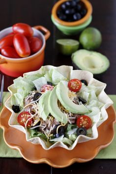 How to Make Restaurant Style Taco Salads at Home