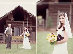 Rustic, Outdoor Georgia Peach Wedding @Whitney Clark Lash I saw someone pinned this!!!