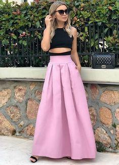 Check out this photo More Photos, High Waisted Skirt, Two Piece Skirt Set, Skirts, Check, Dresses, Fashion, Vestidos, Moda