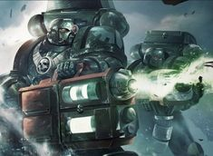 Today we are going to take a look at some the marines that are tasked with carrying the most deadly hand-held weaponry into battle. Read More The post Marines With The Big Guns: Devastator Squad LORE appeared first on Spikey Bits . Fantasy Heroes, Fantasy Fiction, Fantasy Art, Space Marine, Warhammer 40k Art, Warhammer Fantasy, Warhammer Armies, 40k Armies, Warhammer Models