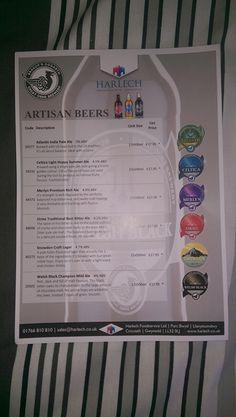 Artisan Beer Flyer I made in April.