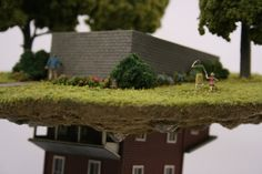 Sculptural works from the Distillation Series by contemporary artist Thomas Doyle. Oldenburg, Sweet Station, Mini Terrarium, Artist Profile, Living In New York, Miniature Houses, Sculpture, Business Design, Installation Art