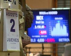 El Ibex se derrumba un 5,16% decepcionado por Draghi | Bolsa Spain