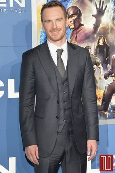 Michael Fassbender, suited perfection.