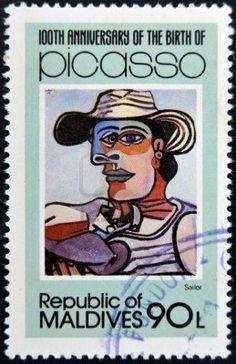 francobollo pittore - Cerca con Google