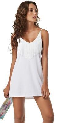 PilyQ Valencia Fringe #Dress
