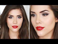 Today I Am: Glamorous   Easy Glam Makeup Tutorial - YouTube
