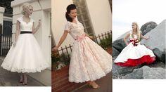 vestidos de novia de los años 50 - Buscar con Google