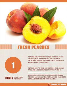 Peach Facts #peaches #fruit