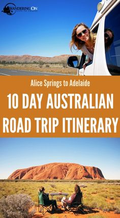 Heading to the Australian Outback? It has to be one of the best places for a camping road trip adventure! Here are our tips and a 10 day itinerary for driving from Alice Springs to Adelaide via Uluru/Ayers Rock on Australia's famous Stuart Highway. Australian Road Trip, Australia Travel Guide, Australia Trip, Ayers Rock, Road Trip Adventure, Travel Guides, Travel Tips, Travel Info, Travel Articles