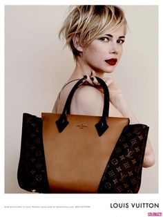Michelle Williams is a Stunner in These New Louis Vuitton Ads