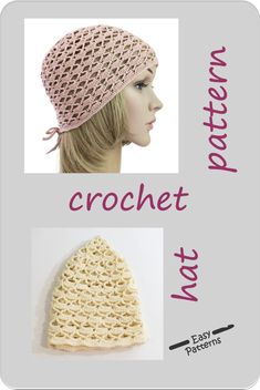 The crochet hat pattern allows you to make either Small, Middle or Adult size women's hat with adjustable straps. It's made up with echo friendly cotton yarn. The pattern includes: - step-by-step written descriptions, - chart, - photo tutorial. Easy Patterns, Flower Patterns, Dress Patterns, Tunic Pattern, Top Pattern, Trendy Clothes For Women, Hats For Women, Hats For Small Heads, Crochet Poppy