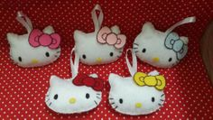 My hello kitty head plushies ~Dreamgirl Crafty