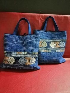 Patchwork patterns bags ideas 18 new ideas Patchwork Patterns, Patchwork Bags, Quilted Bag, Boro, White Tote Bag, Sashiko Embroidery, Diy Handbag, Creation Couture, Craft Bags