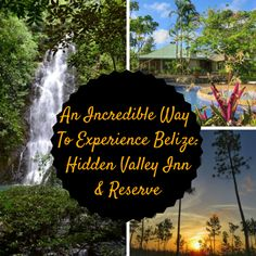 An Incredible Way To Experience Belize-Hidden Valley Inn & Reserve: Waterfalls, hiking, seclusion - an amazing property in the Mountain Pine Ridge in Cayo Belize Small Boutique Hotels, Belize Resorts, Travel Info, Pine Ridge, Australia Travel, Central America, Natural Wonders, Cool Pictures, Travel Destinations