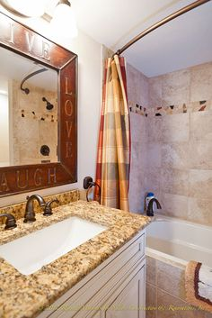 Remind me again why I would ever want a granite countertop? You can do ANYTHING with concrete!