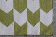 Handmade Geometric Cotton Dhurrie Rug Custom Sizes Rug