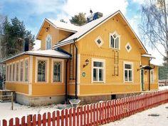 Villa in the real Finnish archipelago.