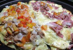 receita: pizza proteica