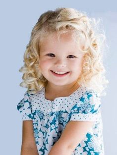 Curly Hairstyles For Toddler Girls