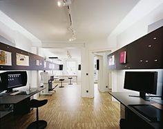Modern dark brown for interior design office space - Interior Design | Exterior Design | Office Design | Home Design