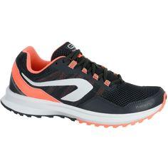 4b19edc417f8d Chaussure de trail running femme Ekiden Active Trail noir KALENJI