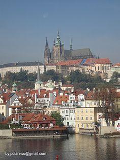 034. Prag. Hradschin mit Blick auf die Burg.
