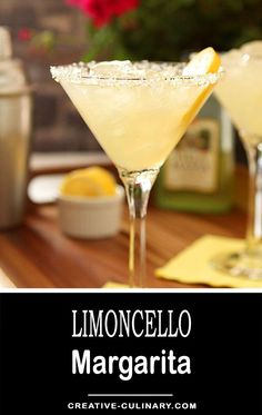 Definitely with some pucker power; this Limoncello Margarita is the perfect summer libation! Definitely with some pucker power; this Limoncello Margarita is the perfect summer libation!