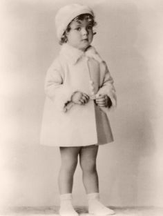 A very young Shirley Temple, 1929-31.